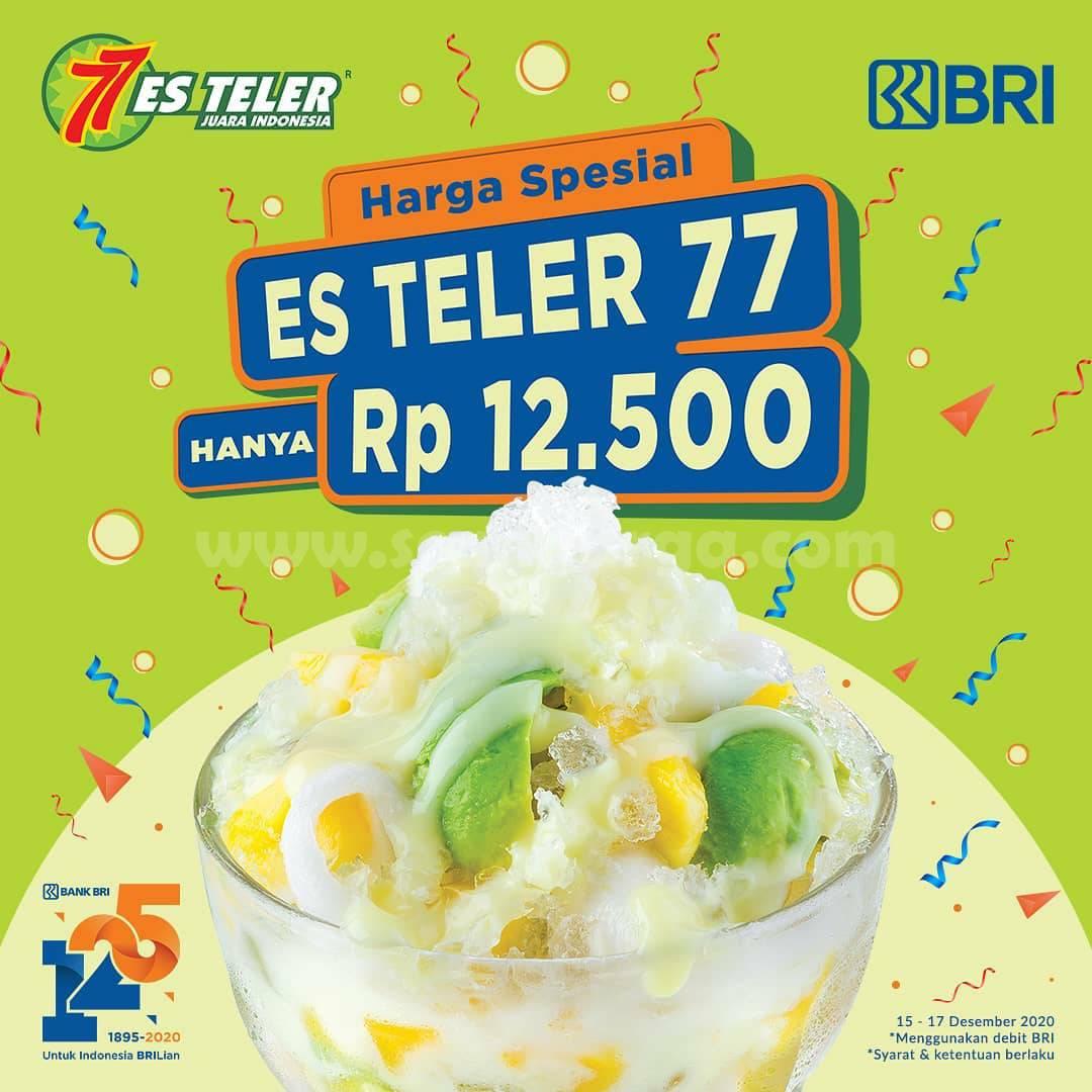 Es Teler 77 Promo – Harga Spesial Es Teler hanya Rp 12.500 dengan Kartu Debit BRI