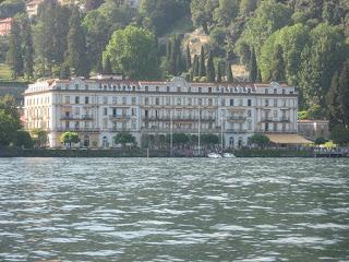 The Villa d'Este on the shores of Lake Como near Cernobbio, where Cesare Bianchi was born