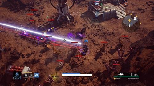 Thế giới giả tưởng trong Solar Purge là nguồn cảm hứng để game thủ lao vào các trận giao tranh