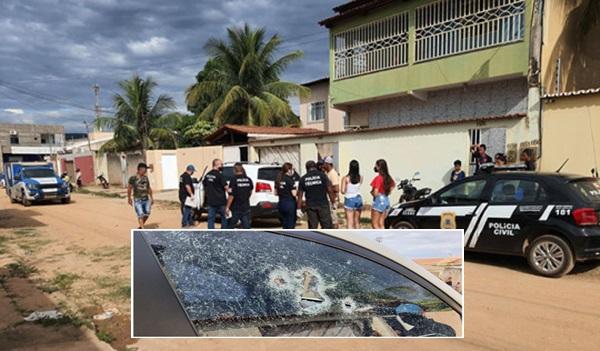 Em barreiras : Homem é morto a tiros no Loteamento Rio Grande