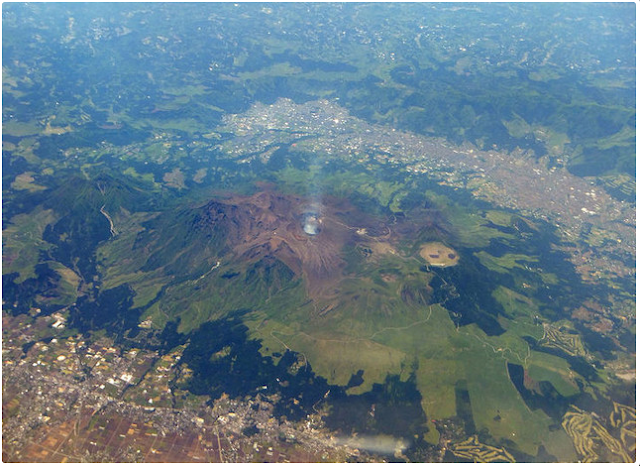 Gunung Berapi di Jepang Berhasil Hentikan Gempa Bumi