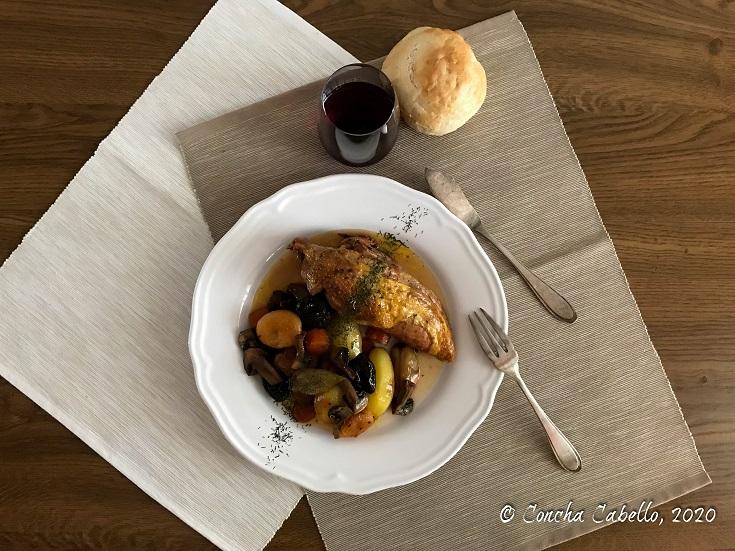 pollo-braseado-oporto-mesa