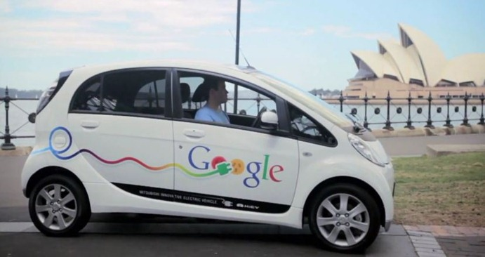 Google 90 Of Cars Could Be Evs And Hybrids By 2030 Electric