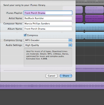 Part 1C: Looking at the New Project Workspace  | GarageBand