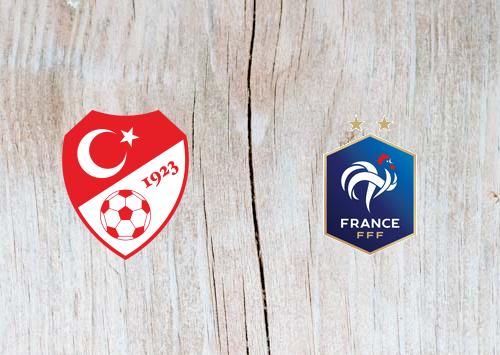 Turkey vs France Full Match & Highlights 8 June 2019