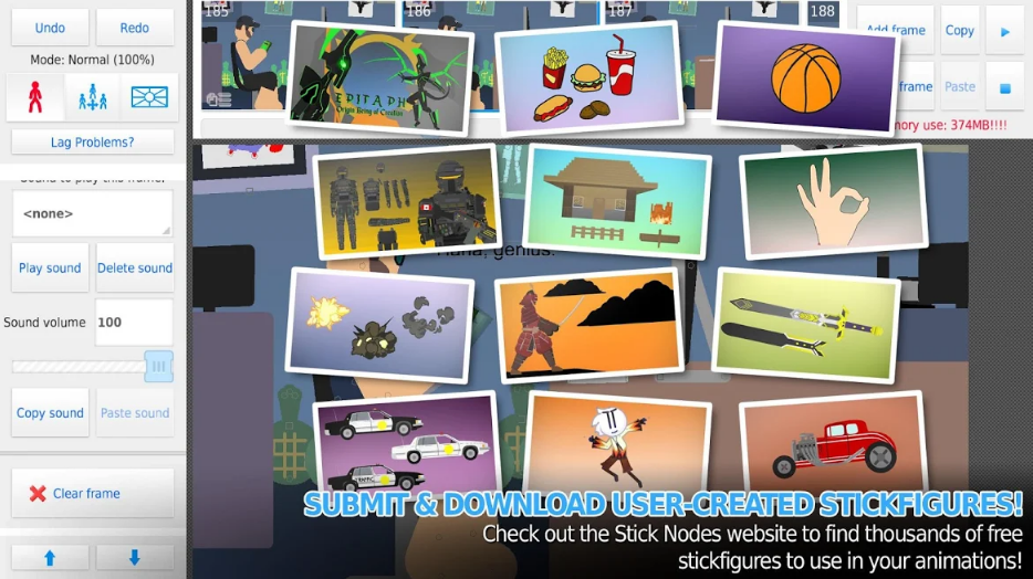 تحميل تطبيق Stick Nodes Pro