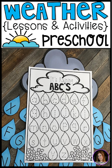Are you looking for a fun, hands-on and engaging weather unit for your preschool classroom? Then, you will love Weather Activities for Preschool!