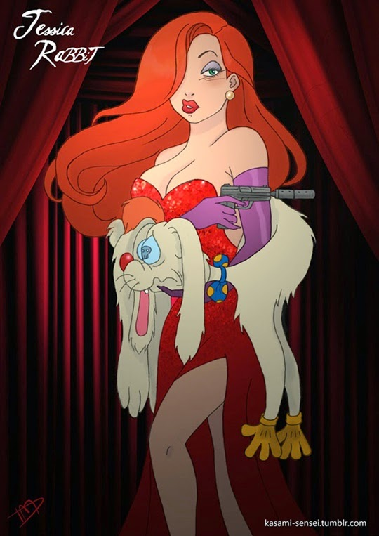Disney Princesses-Transformed-11