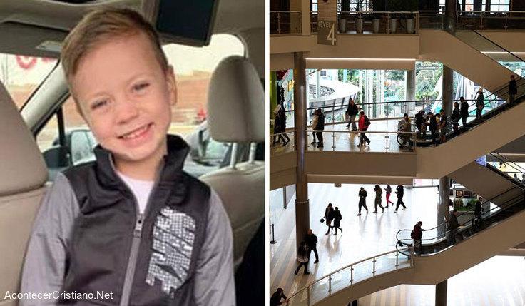 Niño sobrevive a caída de 12 metros