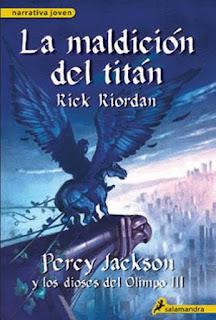 reseña de Percy Jackson y la maldición del titán