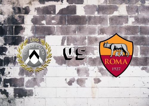 Udinese vs Roma  Resumen