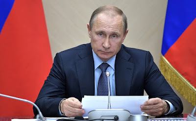 Vladimir Putin - President of the Russian Federation.