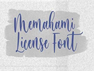 Memahami License Font