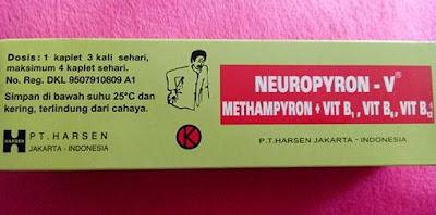 Harga Neuropyron v tab Terbaru 2017