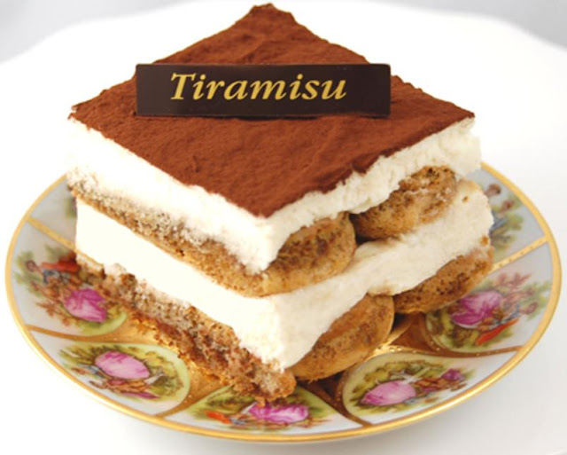 Tiramisu. Homemade recipe