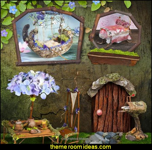 Fairy House Fairy Furniture fairy gardens miniature fary garden decorating ideas fairy furnishings