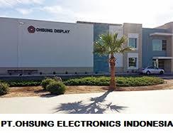 Lowongan Kerja Operator Produksi PT.OHSUNG ELECTRONICS INDONESIA
