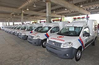 Governo entrega 74 ambulâncias a municípios baianos com investimento de R$ 5 milhões