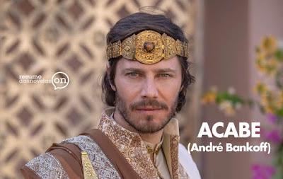 André Bankoff (Rei Acabe) interpreta o marido de Jezabel