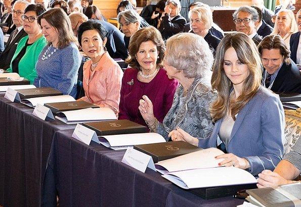 Queen Silvia, Princess Sofia, Queen Sofia and Princess Takamado