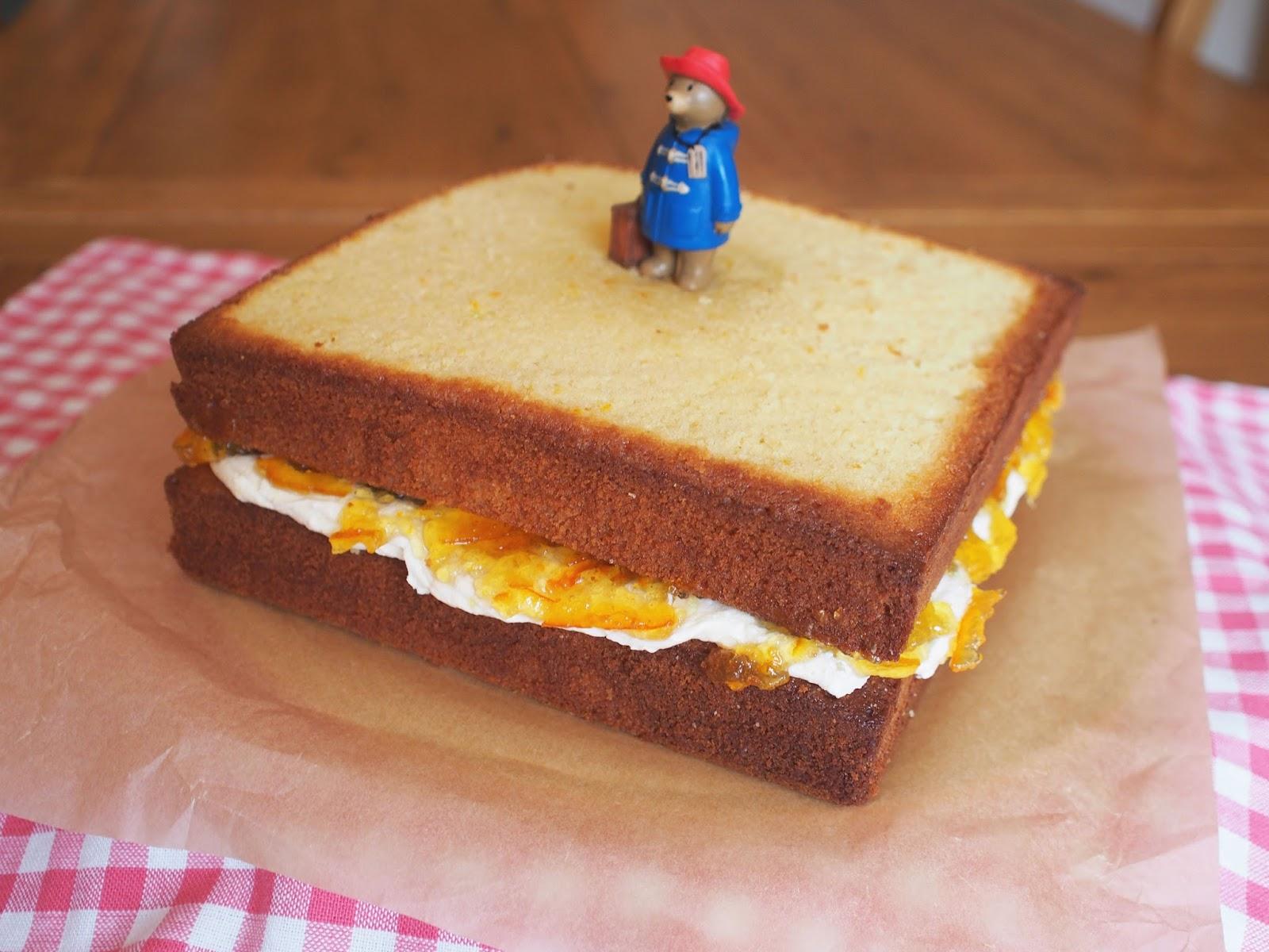 Superb Rosie Bakes It Marmalade Sandwich Cake Funny Birthday Cards Online Sheoxdamsfinfo