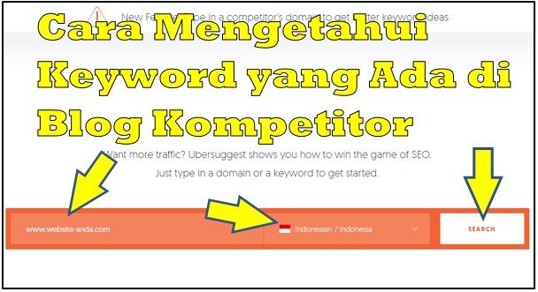 Cara Mengetahui Keyword yang Ada di Blog Kompetitor Terbaru 2019