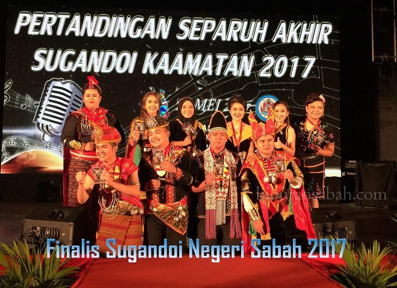 10 Finalis Berentap Di Pentas Akhir Sugandoi Negeri Sabah 2017