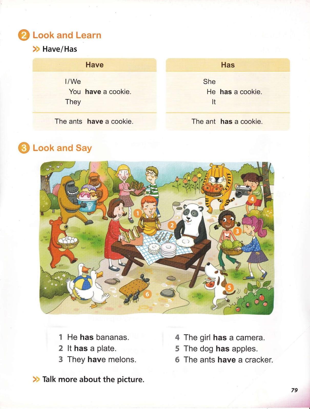 Grammar Worksheets Has Have