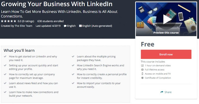 [100% Free] Growing Your Business With LinkedIn