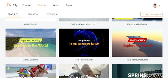 flexclip features