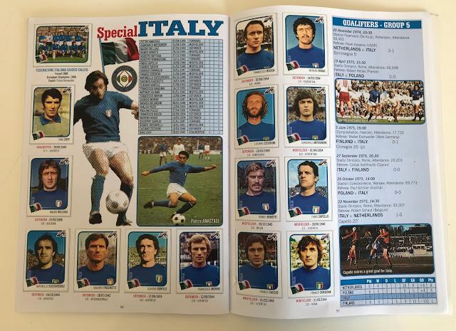 Figurine Italia Euro 76