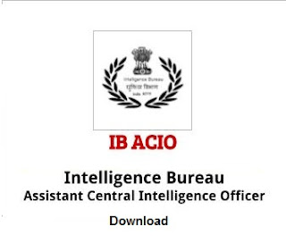 Intelligence Bureau ACIO Syllabus 2017