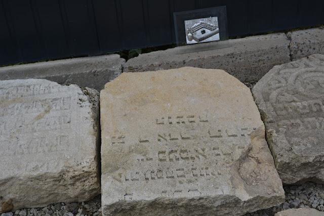 Kába köve a zsidó temetőben