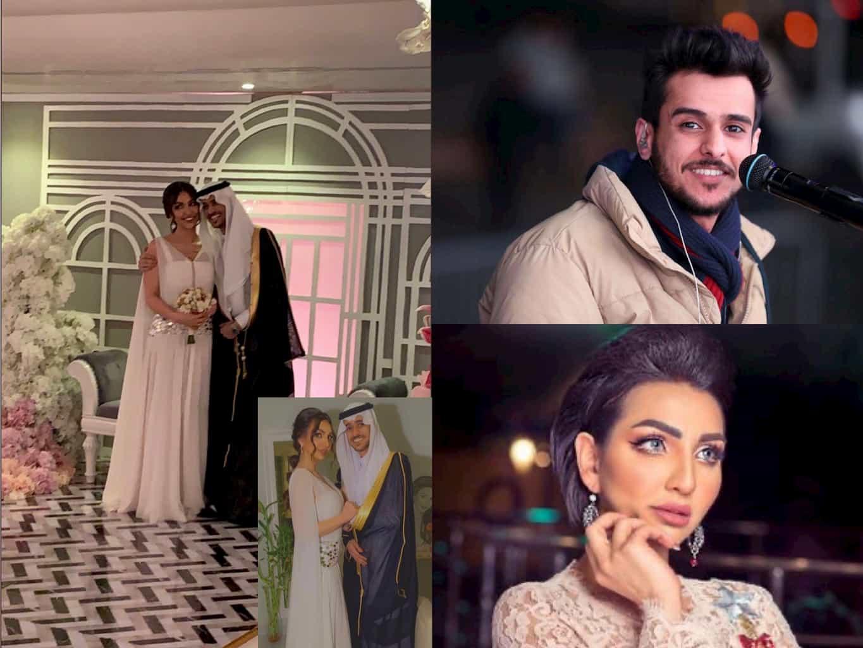 عقد قران الفنان السعودي عايض يوسف والممثلة هبة الحسين تراند اليوم