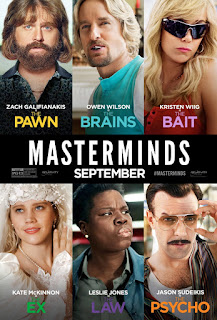 Masterminds (2016) Dual Audio Full Movie Online Free Bluray 720p