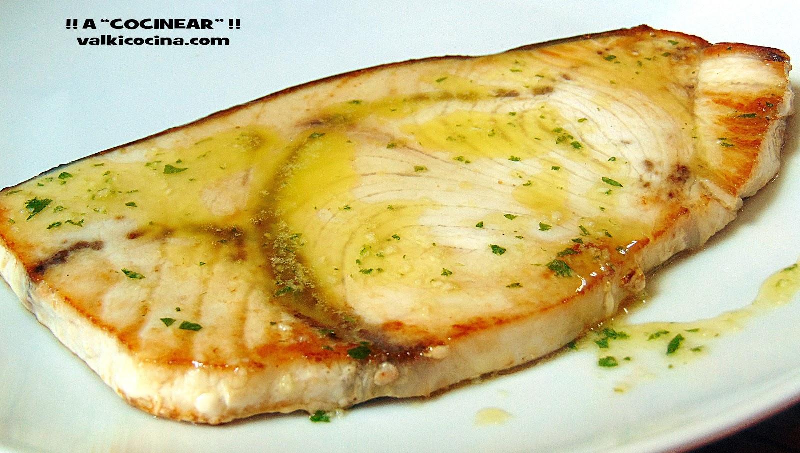 Aceite de ajo y perejil a cocinear recetas for Cocinar pez espada a la plancha
