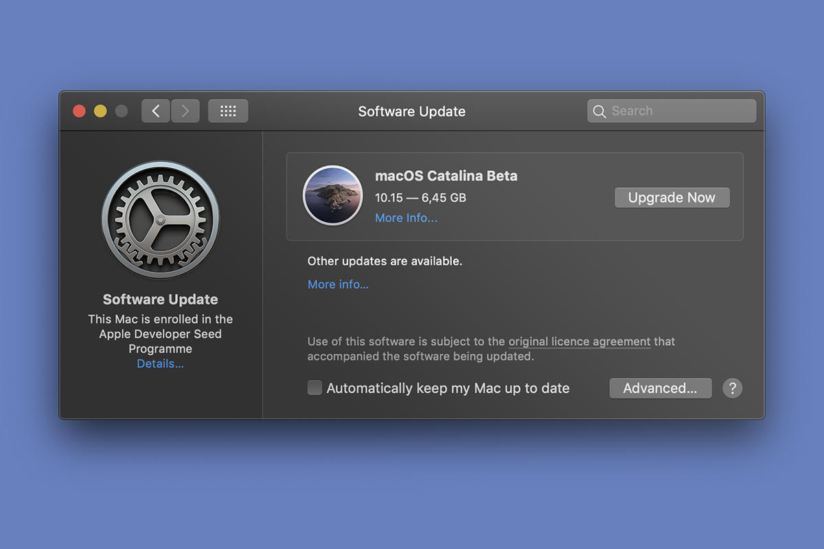 Come installare macOS Catalina