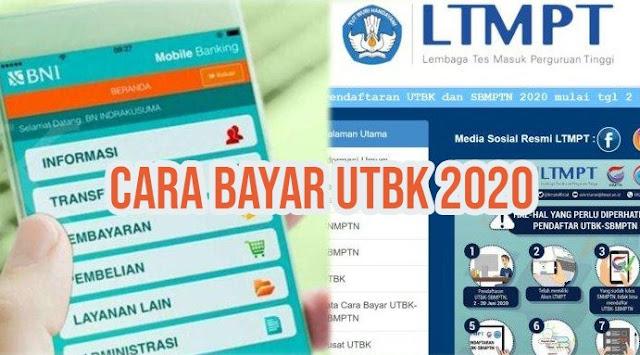 Cara Bayar UTBK-SBMPTN 2020
