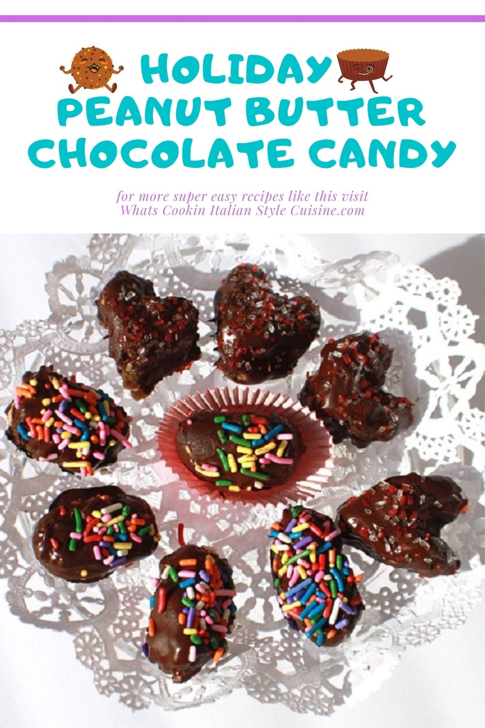 pin for later how to make holiday peanut butter candy