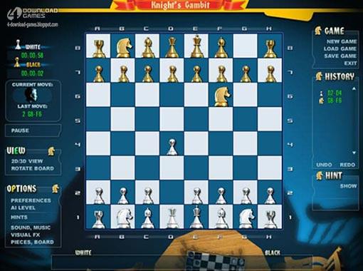 لعبة مناورة الشطرنج Gambit Chess