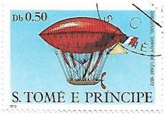 Selo Balão Dirigível