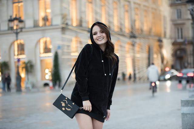 Larissa Manoela desembarca em Paris e fotografa para sua nova coleção pela grife  Birô eb285c7576