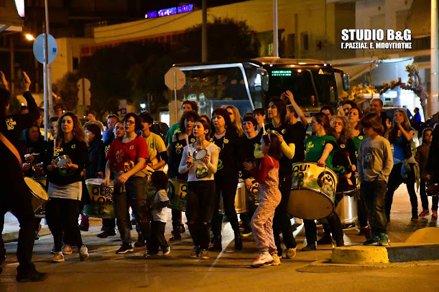 Με παρέλαση κρουστών εληξε με μεγάλη επιτυχία το  2ο Φεστιβάλ Τέχνης και Αποδοχής στο Ναύπλιο (βίντεο)