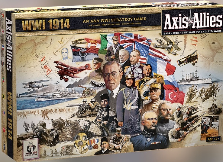 The Wertzone: Franchise Familiariser: Axis and Allies