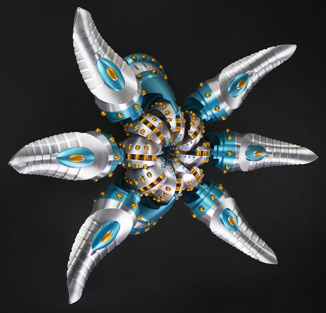 Machined, Metal sculpture, Abstract metal sculpture, Digital fabrication