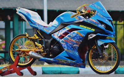 Modifikasi AirBrush Ninja 250
