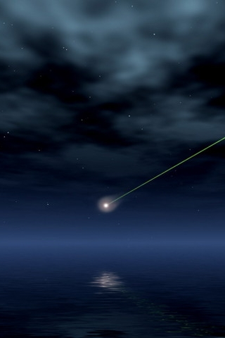3d Iphone Wallpapers Shooting Star Iphone Wallpaper