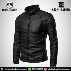 Jual Jaket Kulit Asli Garut Pria Domba Original Brida Leather B53   WA 08813430588