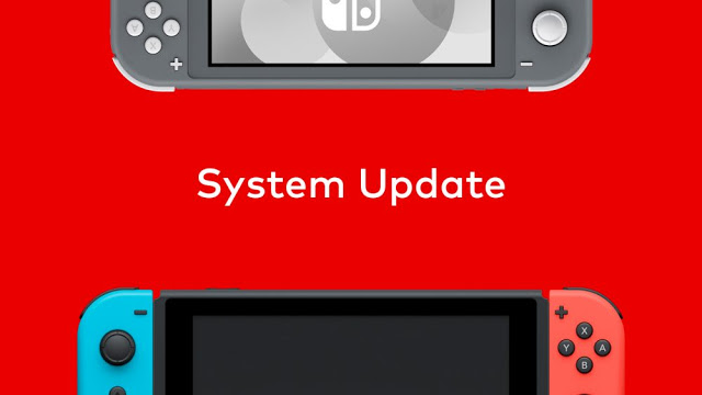 Nintendo Switch recebe nova atualização de sistema (10.0.4)