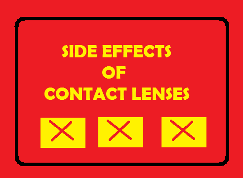 Side Effects Of Wearing Contact Lenses and How to Prevent Them.